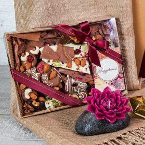 Шоколадное ассорти XL в крафтовой упаковке