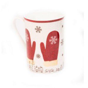 """Кружка чайно-кофейная """"Теплые рукавички"""""""